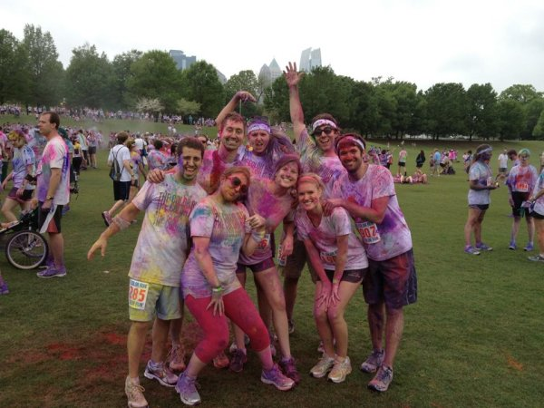 The Color Run 2012.  So much fun!