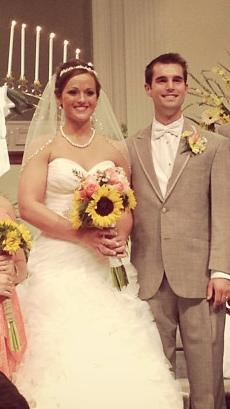 Congrats Ben and Dana!